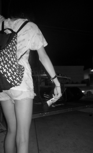 Girl with Purse